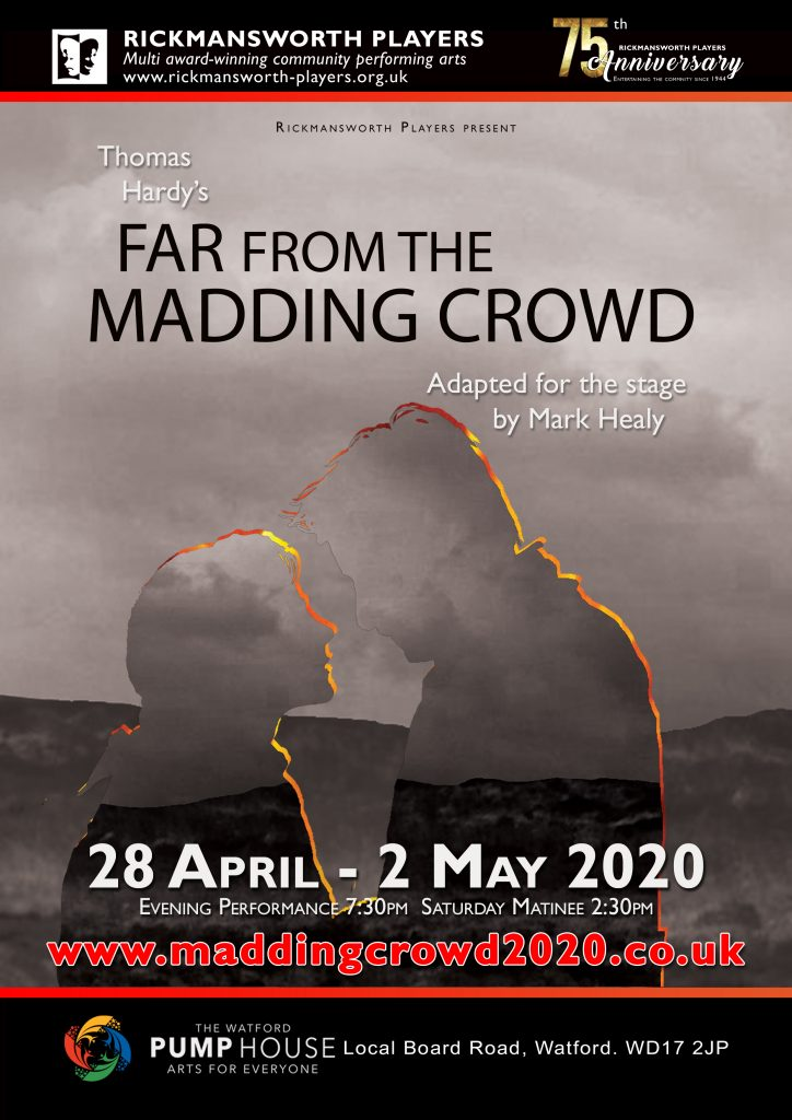 Rickmansworth Players Theatre presents: Far From The Madding Crowd 28th April–2nd May at 7:30pm