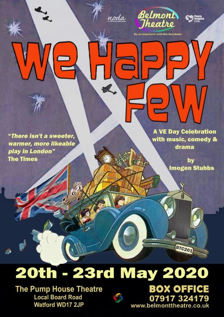 Belmont Theatre presents: We Happy Few 20th –23rd May